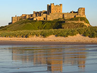 A photo of Bamburgh Castle
