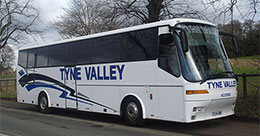 Tyne Valley Coaches, Hexham, Bova Futura Coach side photo